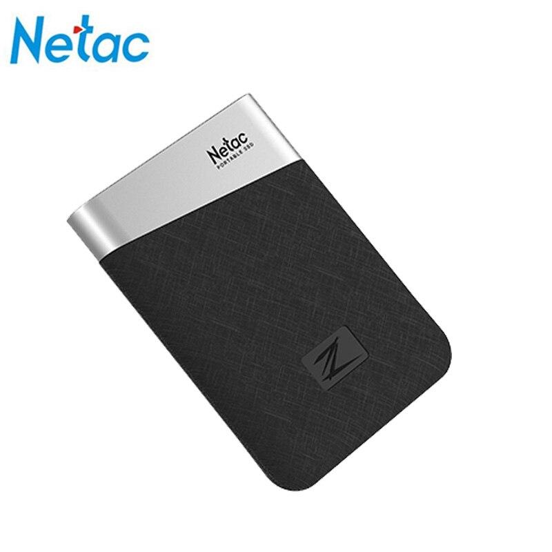 Netac Z6 hhd disco duro externe ssd USB 3.1 portable ssd externe 240 GB 480 GB 960 GB ssd type c stockage eaget nas serveur usb ssd