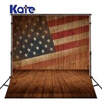 ケイト5x7ftヴィンテージアメリカンフラグ日写真撮影の背景独立記念日旗壁背景用フォトスタジ
