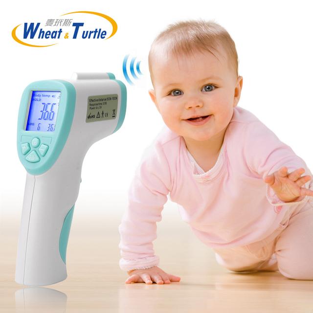 Lcd Digital de Infrarrojos Termómetros Bebé Sin Mercurio Niños termómetro Médico Electrónico Bluetooth Termómetro IR Para Los Niños