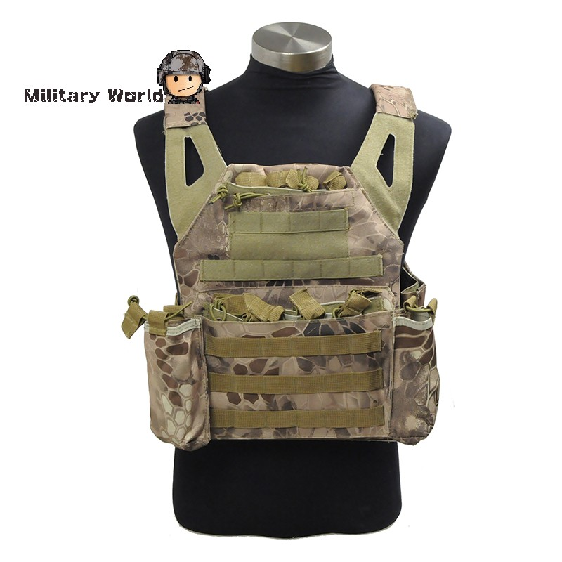 ФОТО Airsoft Hunting Tactical 1000D Nylon VT439 Vest Paintball Combat Military Durable Simplified Version Vest Typhon/Banshee/HLD
