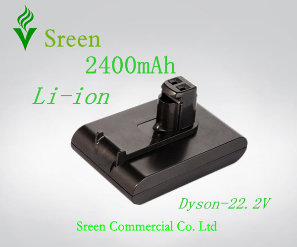 ФОТО Free Shipping 2400mAh 22.2V Rechargeable Lithium Ion Replacement Battery for DYSON Vacuum Cleaner DC31 DC34 DC35 DC44 917083-01