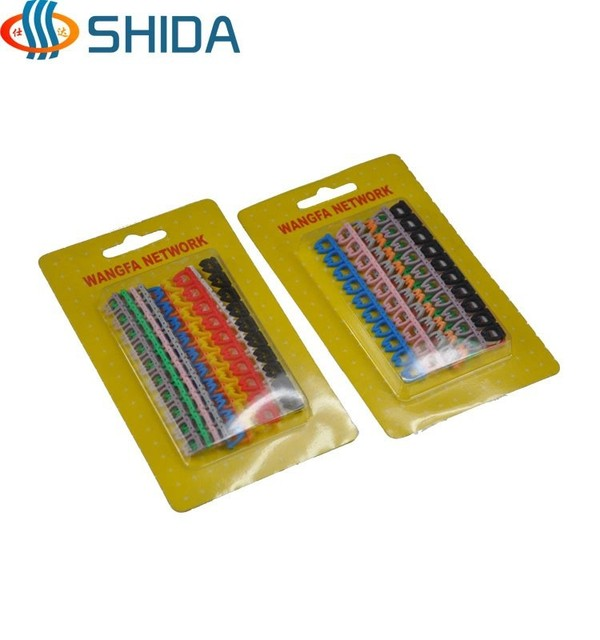 10colors 200pcs 2 sets of cable label marker number tag network line rh aliexpress com House Labels for Wires and Cables Cord Labels