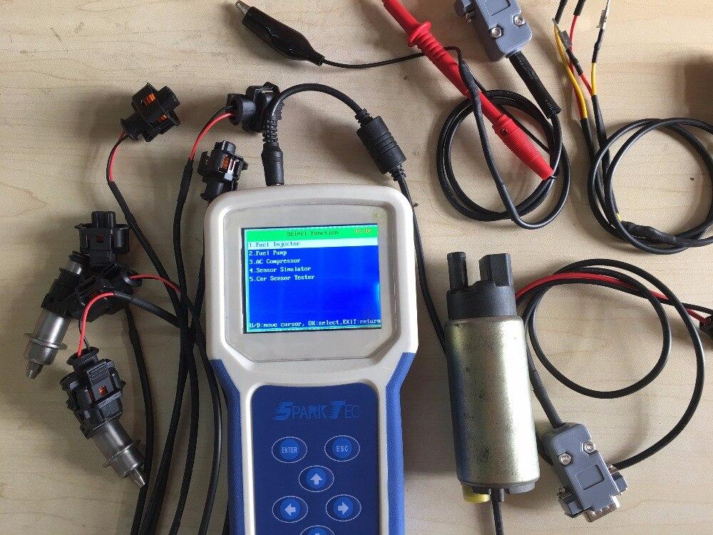 BST501 плюс автомобильных двигателей электрические проблемы Тесты er (Тесты датчики, электрические провода, ЭБУ, топливный инжектор, топливный ...
