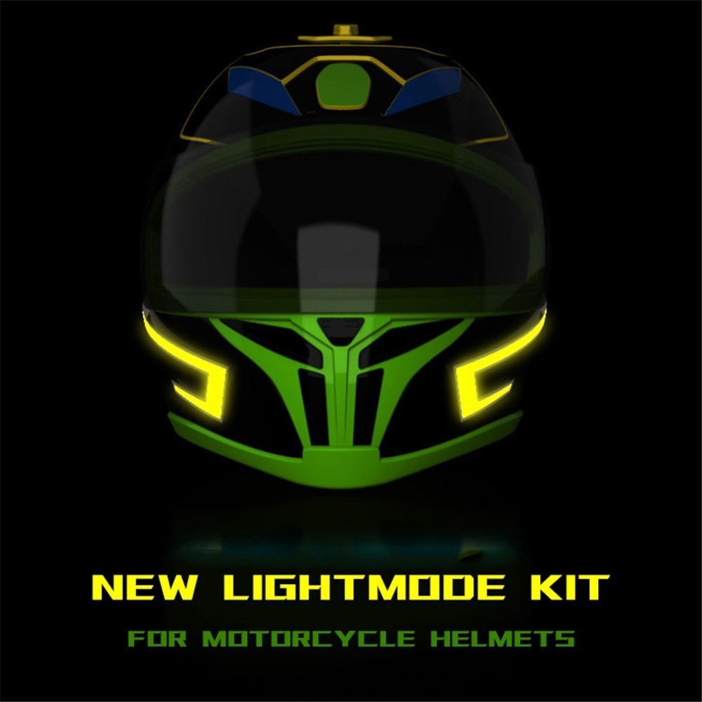 Helm Kalt Licht Streifen Neue EL LICHT Modus Kit Cool & Sicher für Nacht fahrt Signal Blinkende Lichter DIY Helm licht