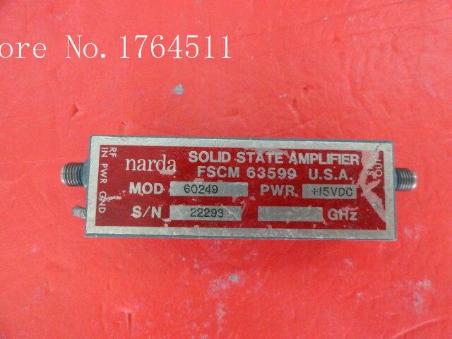 [BELLA] NARDA 60249 15V SMA Amplifier