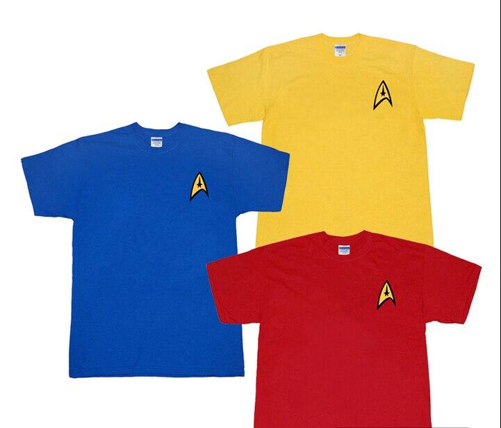 Free shipping Star Trek cotton short-sleeved T-shirt cosplay