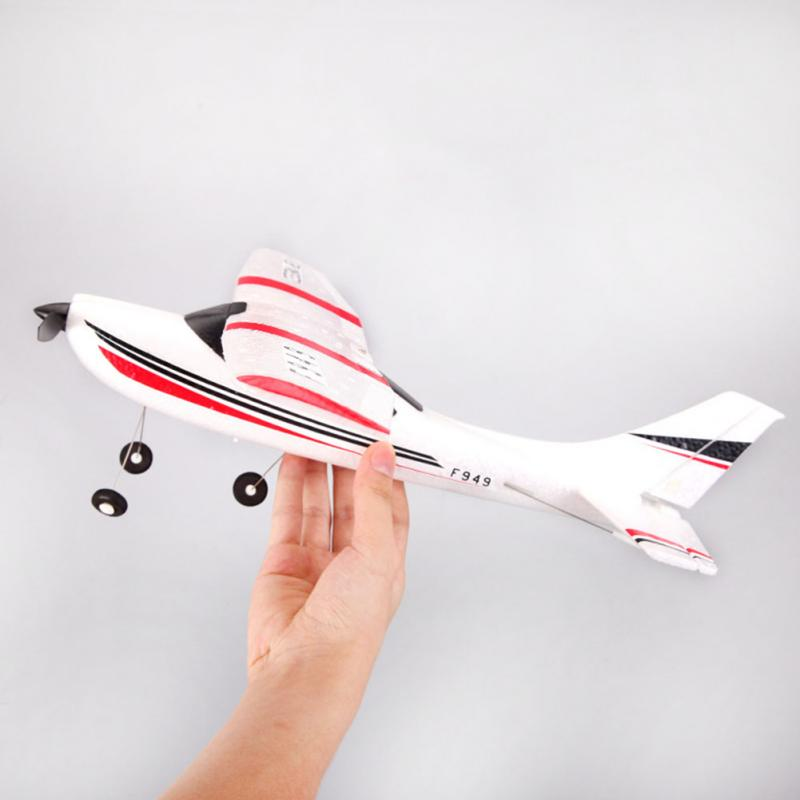 New F949 2.4G remote control glider 3Ch RC Airplane Fixed Wing Plane Toys Mini Drone aircraft boy toys foam remote control plane 4ch rc plane 600m control fixed wing f15 s27 fighter glider aircraft model epp kids toys