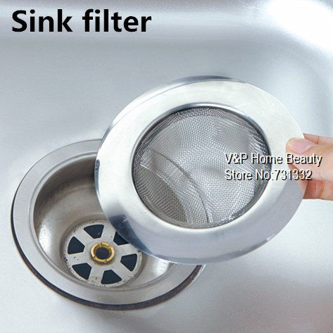 5 Pcs/Lot Stainless Steel Sink Filter Linear Basin Filter Sink Drain Cover  Banco Strainer