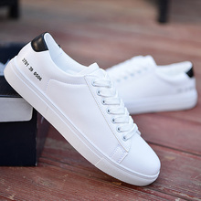 Men casual shoes white solid shallow sneakers for boy mesh breather lace-up man shoe 2019 new designer sepatu pria