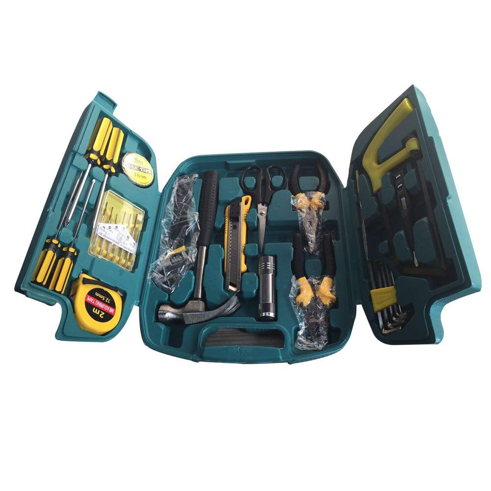 13 in 1 hardware combination set household kit steel tape ha