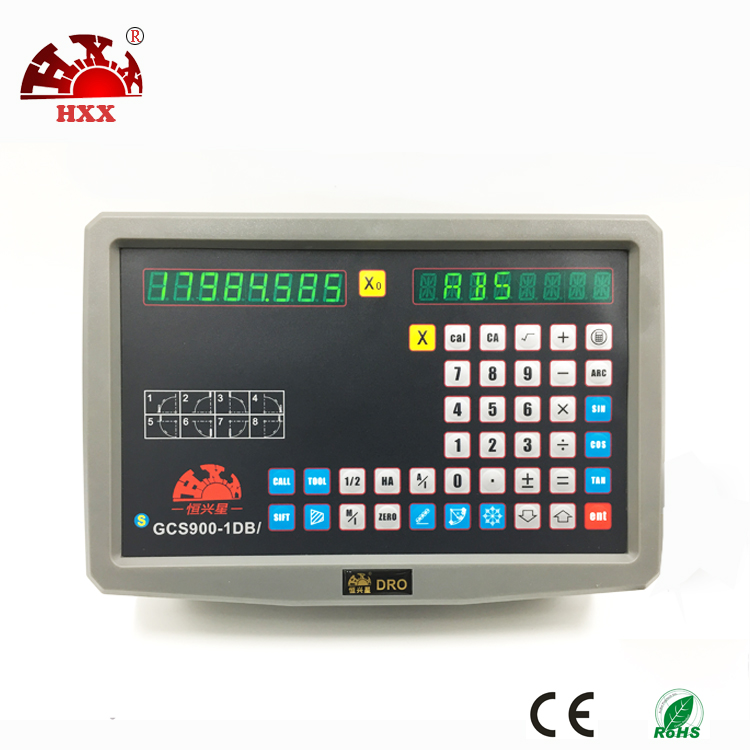 2017 high quality machines plastic single axis digital readout for machinery machine hxx new dro display digital readout gcs900 2d with one piece for all machines
