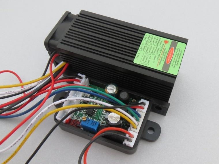 200mW 532nm industrial green laser / Green module AC/DC 12V voltage input