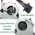 100% Original NEW Laptop CPU Cooling Fan Replacement Cooler For HP ENVY 15 17-j M7 720235-001 720539-001 6033B0032801 VC341 P72