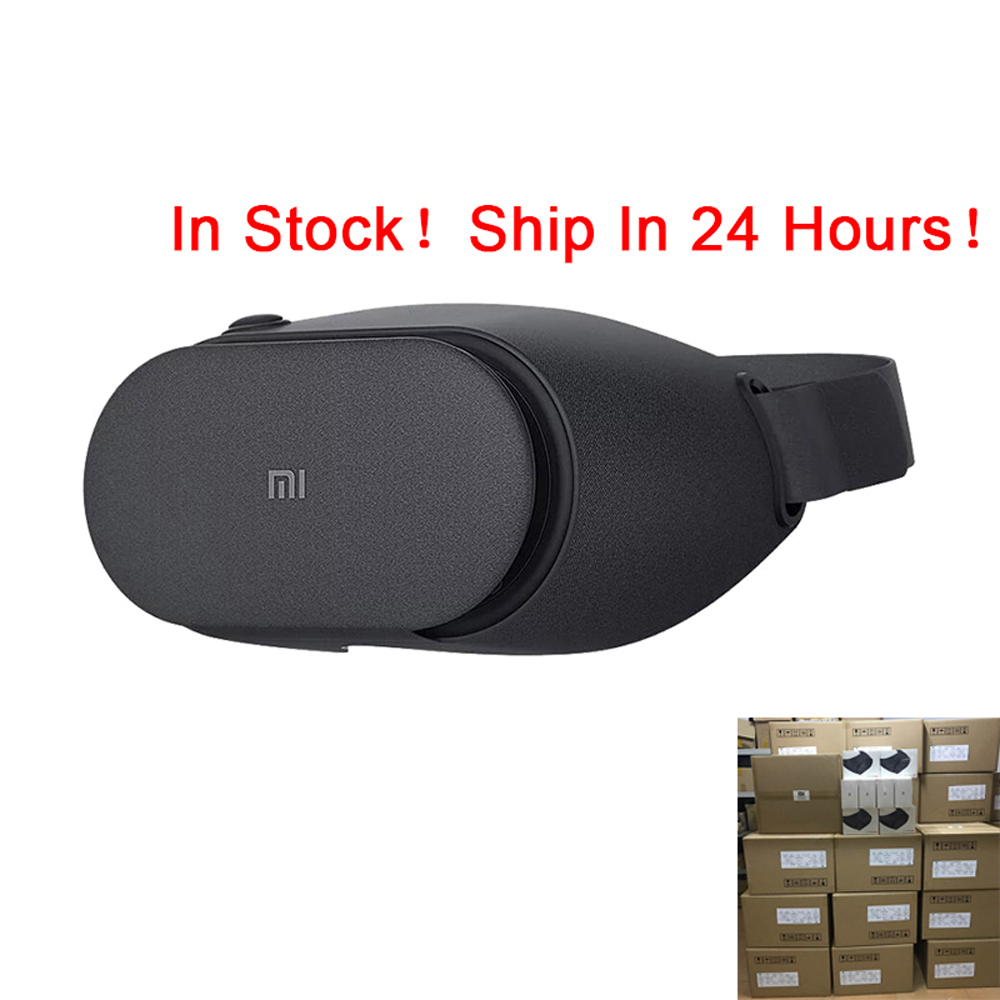 Original Xiaomi V2C VR Box PLAY2 Mi 3D Virtual Reality Glasses Play 2 Google Cardboard Millet VR Glasses For Android IOS Phones