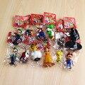 12 unids/set Super Mario figura muñeca juguetes Mario Yoshi Luigi Daisy Goomba individuo tímido muñecos de PVC con llavero 3 - 7 CM envío gratis
