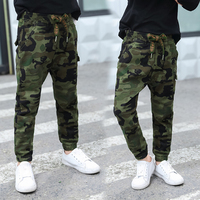 fashion camouflage boy pants 2018 spring summer kids sport pants for boys trousers children teenage boys clothing 10 12 13 years