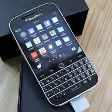 Desbloqueado original blackberry clássico q20 telefone duplo núcleo 2gb ram 16gb rom 8mp câmera, frete grátis