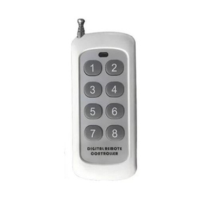 Image 3 - DC 12V 24V 8 CH Channels 8CH RF Wireless Remote Control Switch Remote Control System receiver transmitter 8CH Relay 315/433 MHz