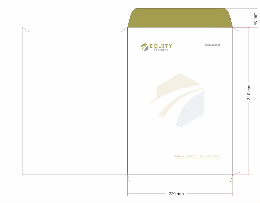 Personalized Business office Envelope customized printed with your business info company Enterprise name telephone email address in Paper Envelopes from Office School Supplies