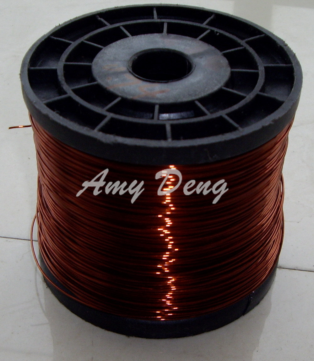100 Meters/lot  0.85 Mm Polyester Enameled Copper Enamelled Round Copper Wire, QZ-2-130
