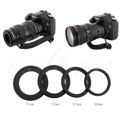 Meike MK-C-UP Auto Macro Tube d'extension AF adaptateur inverse pour appareil photo reflex numérique Canon - 3