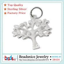 Beadsnice ID28434 твердые стерлингового серебра 925 подвески оптовая ювелирных украшений дерево жизни шарм для браслет дизайн