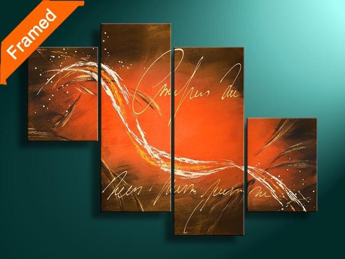 Moderne panneau art toile peinture pour la décoration de la maison moderne image peinture à l'huile mur photos pour les amis