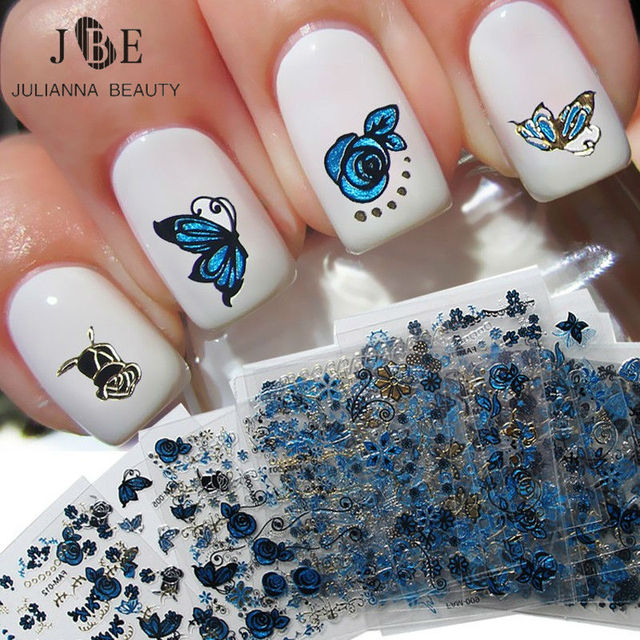 Aliexpress.com : Buy 24 Sheets/Lot Beauty DIY Nail Art Decorations ...
