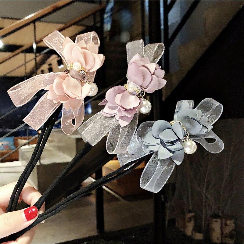 environ 10.16 cm 4 in Plastique Cheveux Nœud modèle Curvy double taild À faire soi-même Filles Fashion Craft