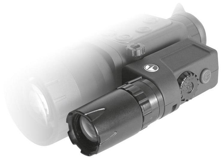 Original Pulsar 79072 Laser IR Flashlight Pulsar L 808S IR Flashlight for NV device part Laser