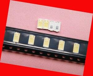 Image 3 - 200 шт./лот для ремонта Samsung LG LCD TV Светодиодная лампа с подсветкой SMD светодиоды 5630 6V холодный белый светодиод