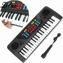 Zebra 37 Keys Multifunctional Mini Electronic Keyboard Piano for Kids Keyboard Instruments Musical Toy Gift