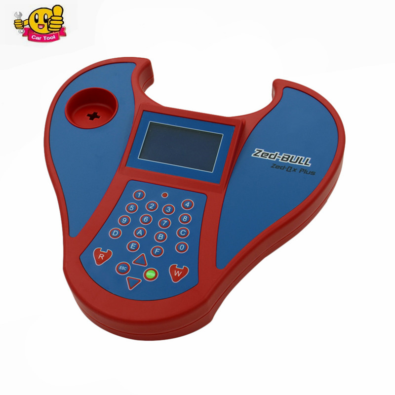2017 Hot promotion Auto Key Programmer big Zed Bull Transponder Clone Key Zed-Bull With Multi-Language Free Shipping  promotion newest ak90 key programmer ak90 pro key maker for b m w all ews version v3 19 plus ak90 with free shipping