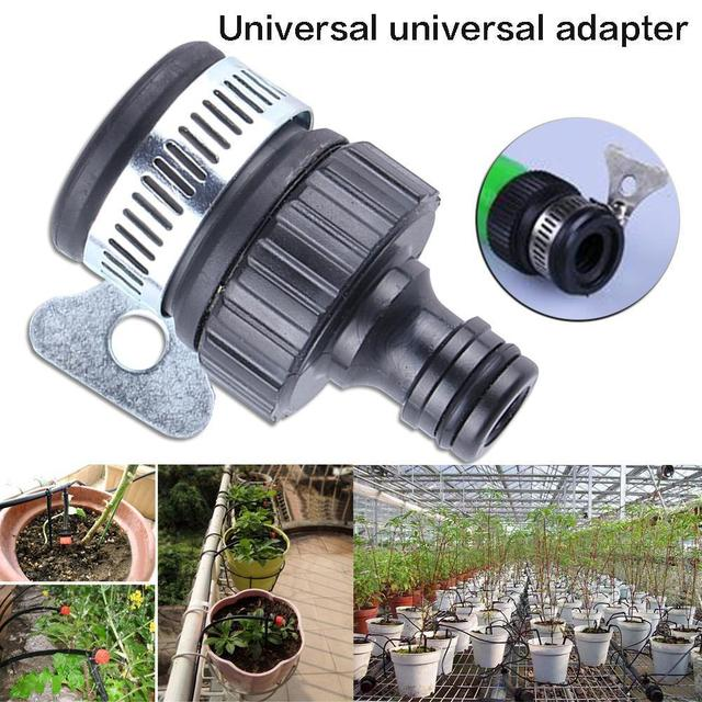 Universal Garden Hose Tap Connector Mixer Kitchen Bath Tap Faucet Adapter Quick Connect
