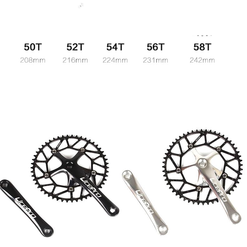 Bike Crankset 130 BCD čtyři 4 velikosti zubů BMX řetězové skládací kolo a řetězové kolo