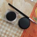 Venta caliente Especial Moda Negro Waterproof Eye Makeup Eyeliner Gel Liner Cosmética + Pincel de Maquillaje Set #10709