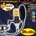 Free Shipping Broadcasting Recording Studio Condenser Microphone Professional Karaoke Mic Computer Microfono Microfone Mikrofon