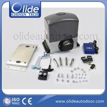 Электрические раздвижные ворота для 1000 кг-1200 кг ворота с 4 м стойки (4 м стойки + фотоэлемент)