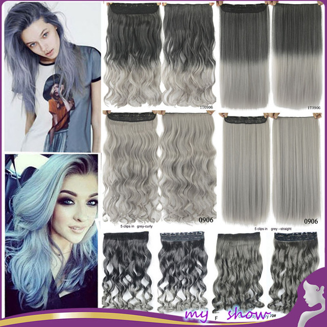 18\' 24\' 5 Clip in Hair Extension One Piece
