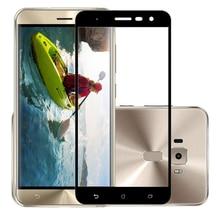ثلاثية الأبعاد الزجاج المقسى ل ASUS ZenFone 3 ZE552KL غطاء شاشة واقي للشاشة الكاملة فيلم ل ASUS Z012D Z012DA