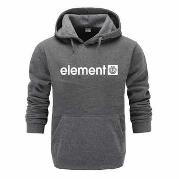 Hot 2018 Autumn Winter Brand Mens Hoodies Sweatshirts Men High Quality ELEMENT Letter Printing Long Sleeve Fashion Mens Hoodies - DISCOUNT ITEM  35% OFF All Category