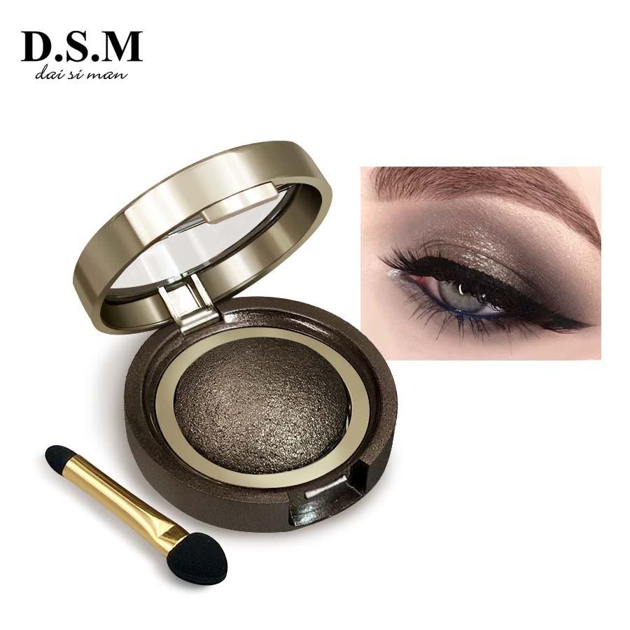 D S M Professional font b Mineralize b font Eye Shadow Single Color Waterproof Long lasting