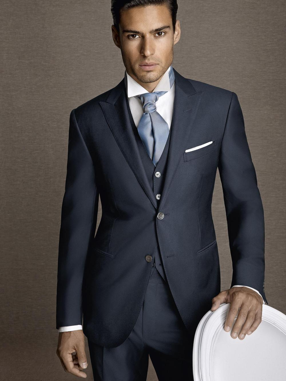Popular Navy Suit Slim Fit-Buy Cheap Navy Suit Slim Fit lots from