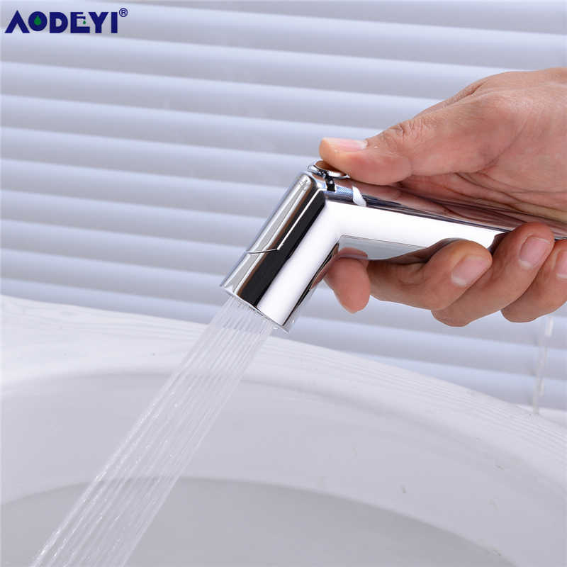 Dekaim Spruzzatore per Bidet Home Bathroom Handheld Portable Cromato ABS Shattaf Toilet Bidet Shower Spray