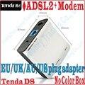 EU/UK/AU/EE. UU. Enchufe Tenda D8 Internet DSL de Alta Velocidad Modem ADSL 2 + Router Con Cable ADSL Módem de Banda Ancha, No Paquete de la Caja de Color, BAILE-