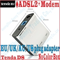 EU/UK/AU/US Plug Tenda D8 High Speed DSL Internet Modem ADSL 2+ Wired Router ADSL Broadband Modem, No Color Package Box, PROM-