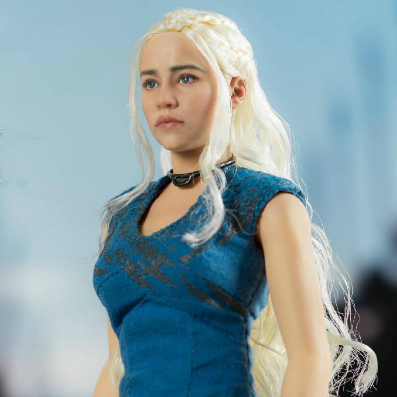 ThreeZero 1/6 Game of Thrones Danenerys Targaryen Collection Action Figure for Fans Holiday Gift индийский костюм для танцев девочек