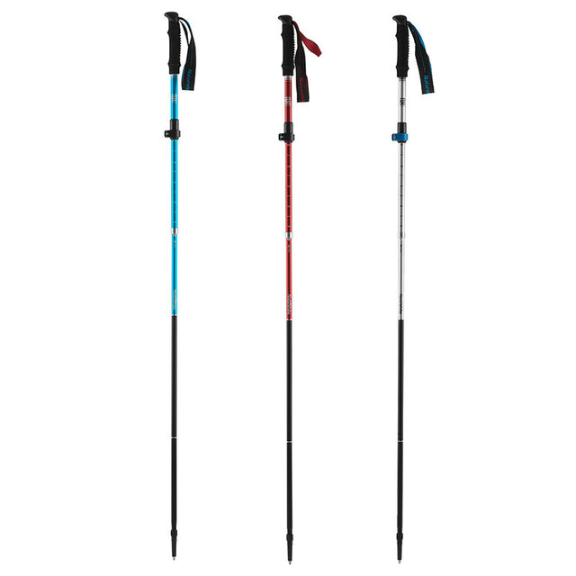 Naturehike Walking Stick Folding Aluminium Alloy Adjustable Ultralight Alpenstocks Trekking Pole Outdoor Climbing Hiking Canes