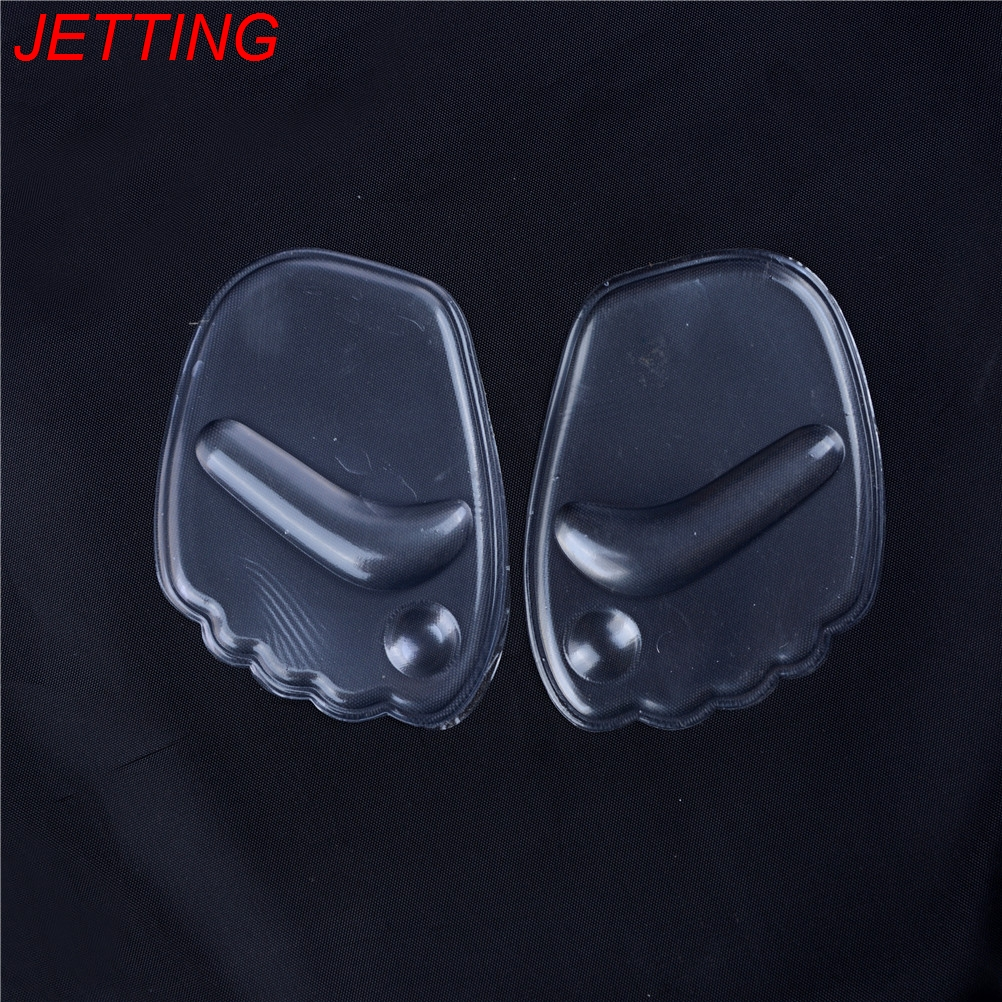 JETTING 1 Pair gel silicone forefoot pad pads insoles inserts massager anti-slip for high heels woman shoes sandals