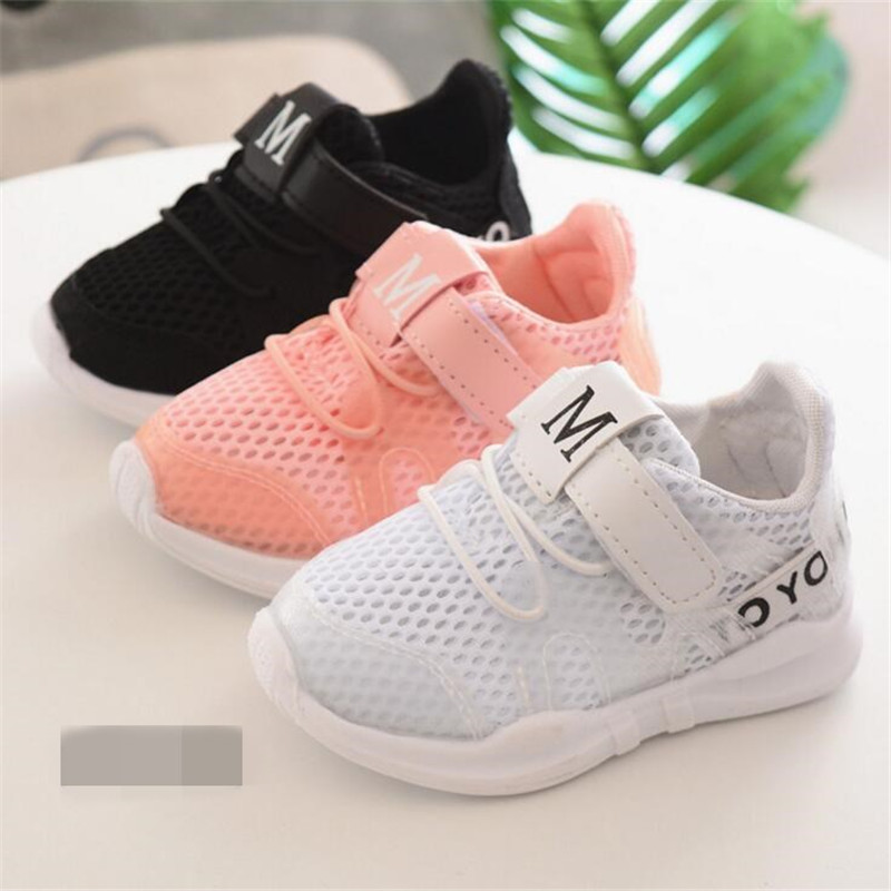 25% Spring summer Children girl boy Casual Shoes breathable sport fashion Hollow Net shoes 3colors 21-30 TX04